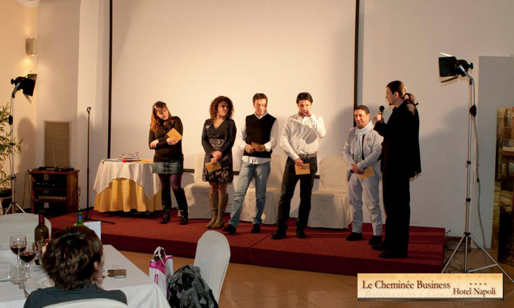 A Cena Col Mentalista – Cheminee Business Hotel
