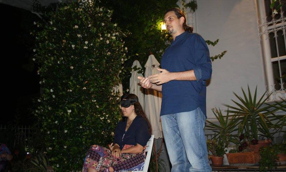 Spettacolo A Villino Manina Con La Mia Assistente Roberta